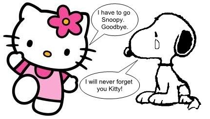 Hello Kitty  Snoopy  Hugh Fox III