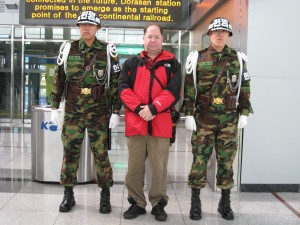 Hugh Fox DMZ South Korea