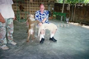 Hugh B. Fox III monkey business