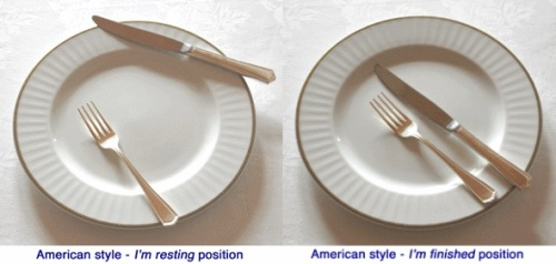 Continental versus American Table Manners 2