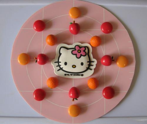 Hello Kitty Mandala by Hugh B. Fox III