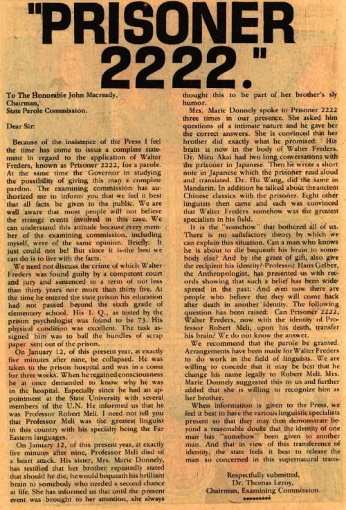 Prisioner 2222 - Blue Beetle V4 #5 (1967) - Page 22