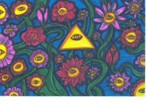 Eye of Providence Flowers