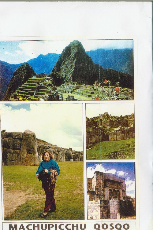 My Mother at Machu Pichu