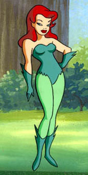 Poison Ivy Batman the Animated Series
