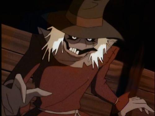 Scarecrow Batman the Animated Series
