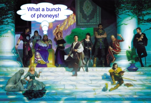 Funny Fantasies 15 What a bunch of phoneys