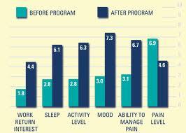 Before Program After Program Bar Graph