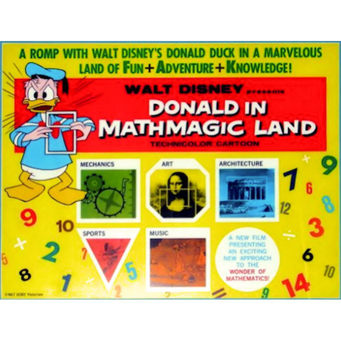 Worksheets Donald In Mathmagic Land Worksheet donald in mathmagic land worksheet related to the human body and nature
