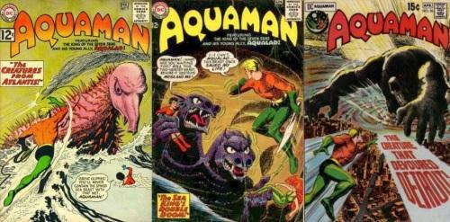Aquaman, Aquaman #7, The Creatures from Atlantis, Aquaman #20, Two-Headed Beast, Aquaman #56, The Creature that Devoured Detroit