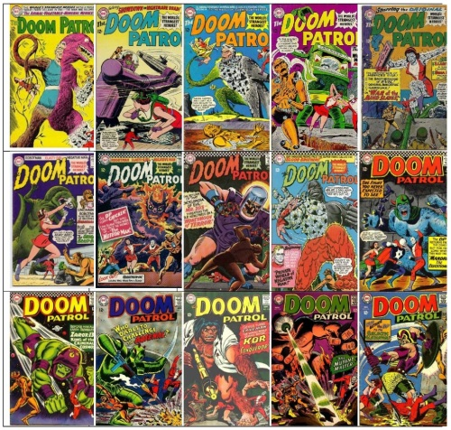 Doom Patrol Monsters