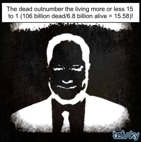 Dead Vs Living Hugh Fox Iii