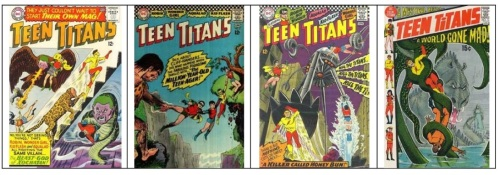 Teen Titans Monsters