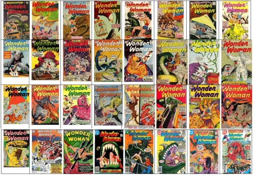 Wonder Woman Monsters