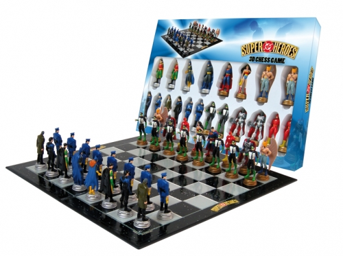 supermanand batman play chess - photo #18
