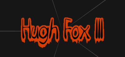 Hugh Fox III - Happy Halloween