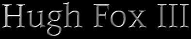 Hugh Fox III - Legal