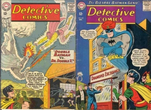 Detective Comics #316, Energy Batman, Detective Comics #322, Genie Batman