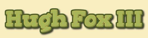 Hugh Fox III - Free Range