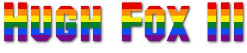 Hugh Fox III - Gay Pride