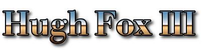 Hugh Fox III - Horizon
