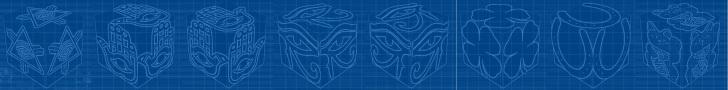 cube, 3d cube, lucky dice, luck symbols, Blueprint Eye of Fatima, Blueprint Eye of Providence, Blueprint Four Leaf Clover, Blueprint Horseshoe, Blueprint Maneki Neko, banner