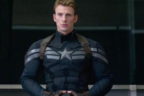 2) Chris Evans as Steve Rogers Captain America