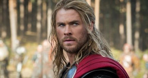 4) Chris Hemsworth as Thor