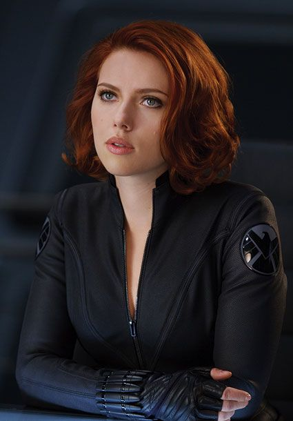 5) Scarlett Johansson as Natasha Romanoff Black Widow