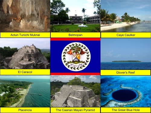 Actun Tunichil Muknal, Belize, Belize Collage, Belize Flag, Belmopan, Caye Caulker, Collage, El Caracol, Glover's Reef, Placencia, The Caanan Mayan Pyramid, The Great Blue Hole