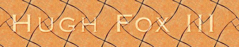 Hugh Fox III - Crystal Orange