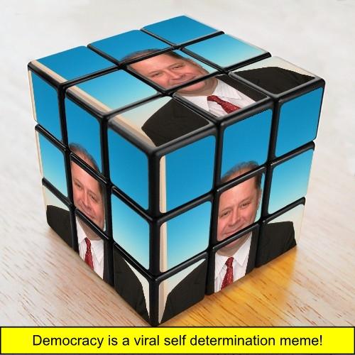 meme, memetics, democracy, viral self determination, viral self determination meme, Hugh Fox III, Hugh Fox, Foxey Quotes