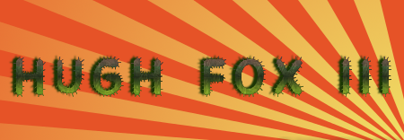 Hugh Fox III - Desert