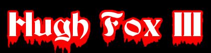 Hugh Fox III - Dracula