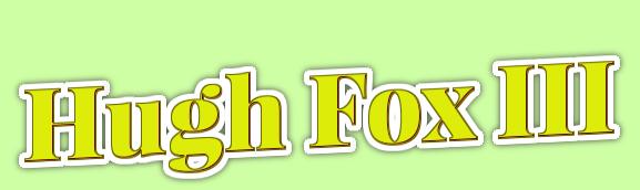 Hugh Fox III - Easter Slanted