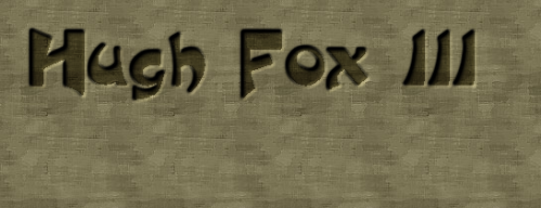 Hugh Fox III - Embossed