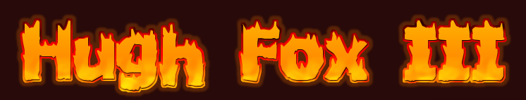 Hugh Fox III - Flame