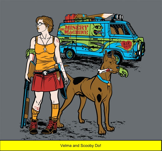 Do you think Velma and Scooby Do would be efficient zombie killers?