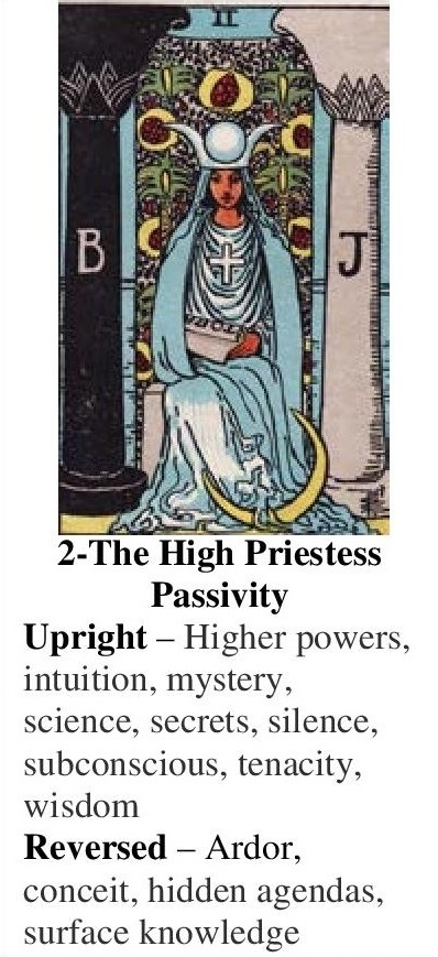 2-Tarot-The High Priestess-Annotated