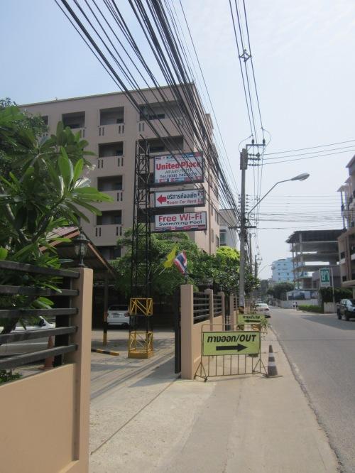 United Place Apartments Bangsean Thailand