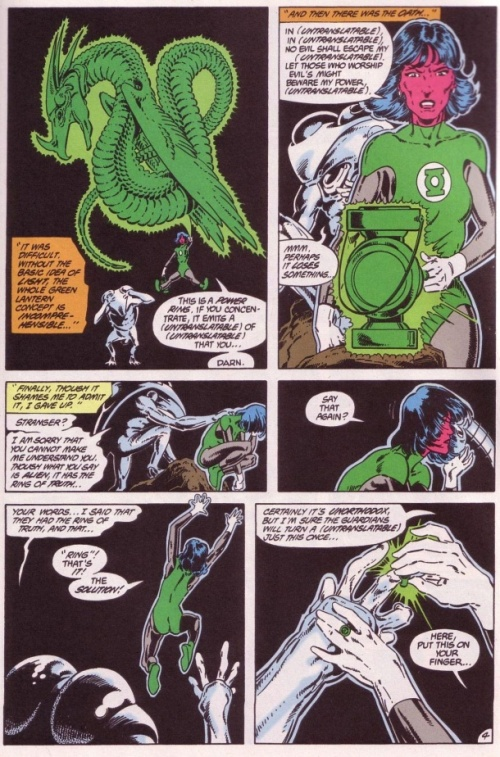 "15- ""In Blackest Night"" Tales of the Green Lantern Corps Annual #3- Page 4"