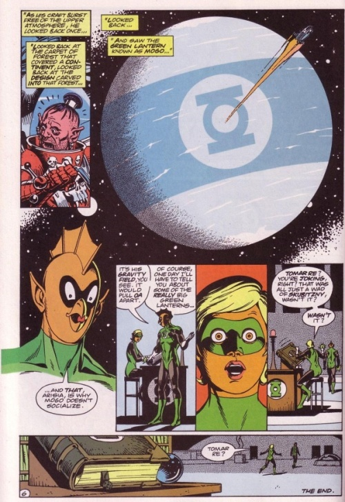 16-Mogo Doesn't Socialize Green Lantern #188, v2 - Page 6
