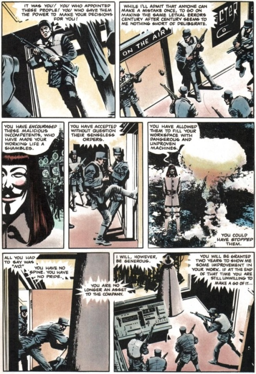 28-V For Vendetta #5 - Page 9