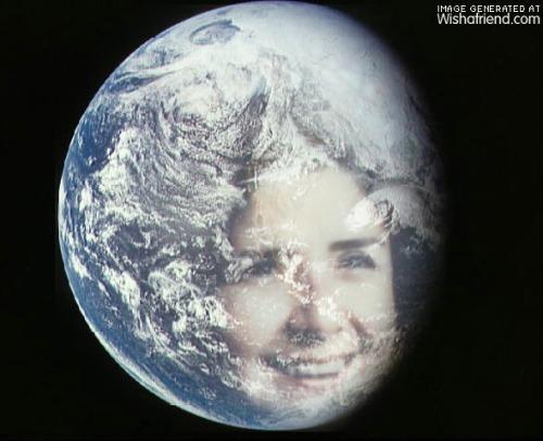 Lucia Lockert Earth Special Effect