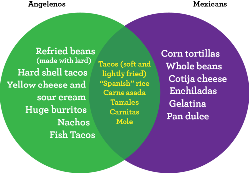 Tex Mex vs Mexican