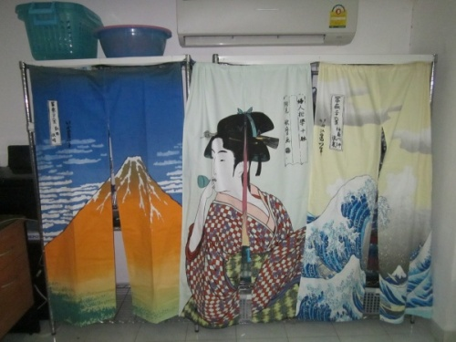5After Ukiyo-e Noren Curtains