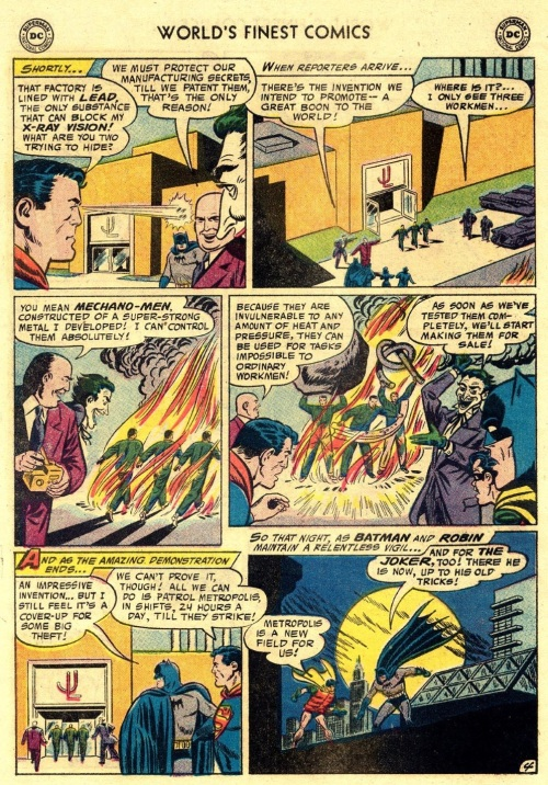 1-36 Stratagems as Portrayed in Comic Books-World's Finest Comics #88 (1957) - Page 6