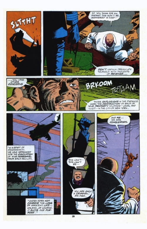 17-36 Stratagems as Portrayed in Comic Books-Daredevil V1 #299 (1991) - Page 22