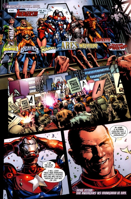 19-36 Stratagems as Portrayed in Comic Books-Dark Avengers #1 - Page 30