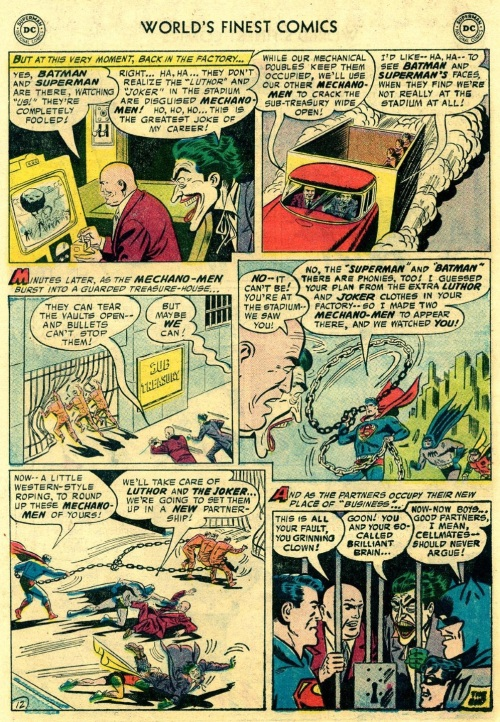 2-36 Stratagems as Portrayed in Comic Books-World's Finest Comics #88 (1957) - Page 14